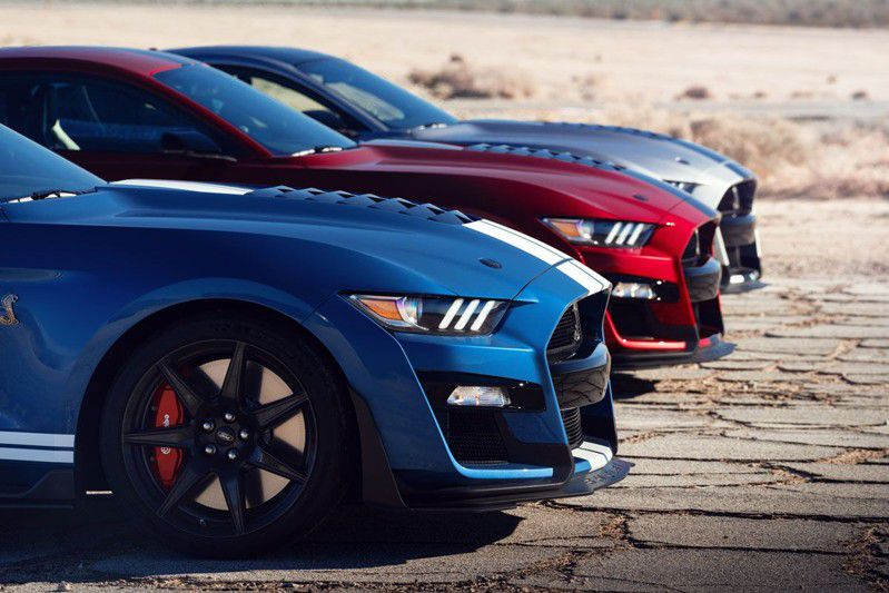 Ford mustang- Nowy Shelby GT500 2020